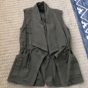 Anthropologie cargo vest M